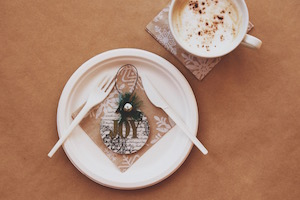 Eco-Friendly Holiday Place Settings
