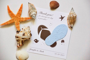 Eco Friendly Plantable Cards and Favors