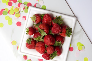 Eco-Friendly Strawberry Themed Party
