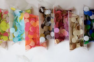 Eco-Friendly Paper Confetti