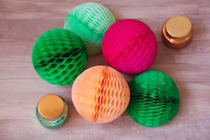 Fun Uses For Tissue Balls and Fans