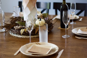 How to Use Eco-Friendly Tableware to Stage Your Fall Open House