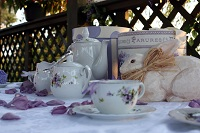 Shabby Chic Garden Tea Party Part 1 - Planning the Setting, the Colors, and the Style