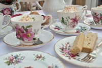 Host a Mother's Day Tea Party with Vintage Decor