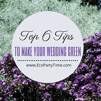 Top 6 Ways to Make Your Wedding Eco-Friendly