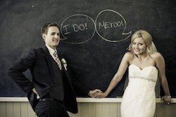 The ABC's of a Perfect Eco-Chic Teacher Wedding