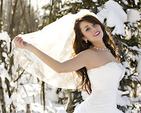 Top Five Eco-friendly Winter Wedding Themes