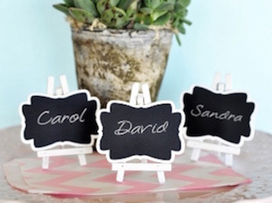 Place Cards And Holders