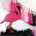 Flamingale Tissue Paper Garland