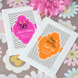Personalized Birthday Celebration Seed Packets