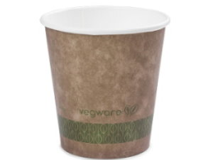 Kraft Compostable 10oz Hot Cup - Pack of 50