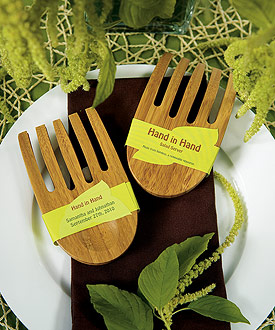 """""""Hand in Hand"""" Bamboo Server Set - as low as $3.98"""