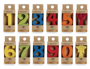 Big Dipper Waxworks Birthday Number Cake Candles