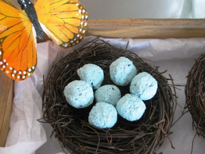 Bird's Nest Seed Bomb Favors - Multiple Colors Available