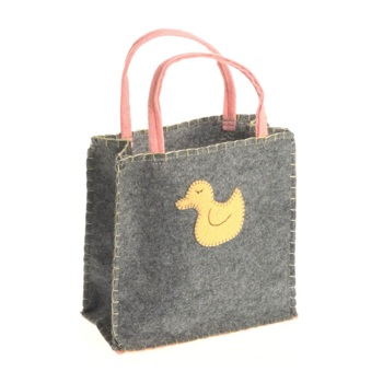 Little Duck Felt Goodie Bag