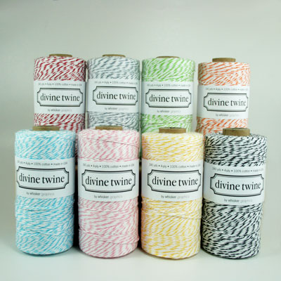 Divine Twine 100% Cotton Baker's Twine - Available in Multiple Colors