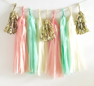 DIY Tassel Garland Kit - Choose Your Own Colors