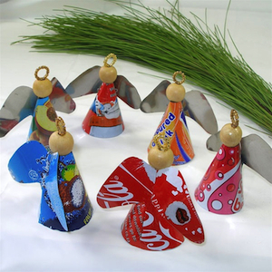 Angels With Attitude Fair Trade Ornaments - Set of 3