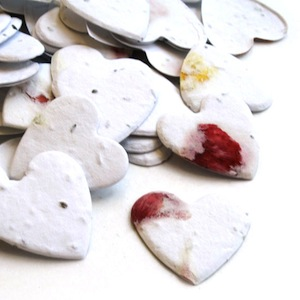 Heart Plantable Confetti - Petalled - 350 Pieces