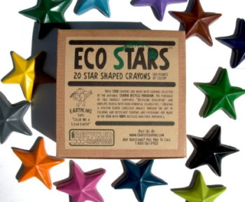 Eco Stars Recycled Crayons (Set of 20)