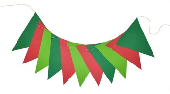 Hip Holiday EcoGarland-ONLY 1 LEFT IN STOCK
