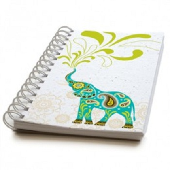Elephant Coil Bound Plantable Journal