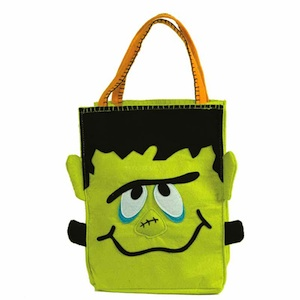 Groovy Frankenstein Trick or Treat Bag