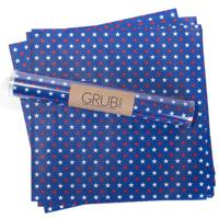 American Star Gift Wrap Or Grub Paper - Set of 12 sheets