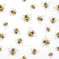 Save The Bees Cocktail Napkin - 20 napkins per package