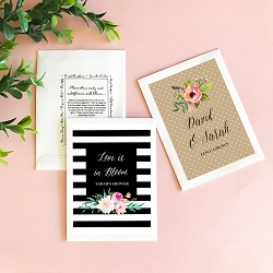 Personalized Floral Garden Flower Seed Packet Favors