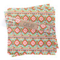 Fiesta Gift Wrap or Grub Paper - Set of 12 sheets