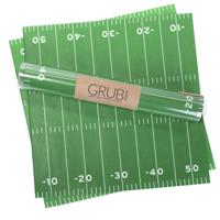 Football Field Gift Wrap or Grub Paper- Set of 12 sheets