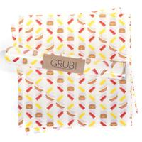 Hamburger Gift Wrap or Grub Paper- Set of 12 sheets