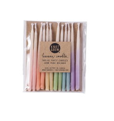 Beeswax Birthday Ombre Candles