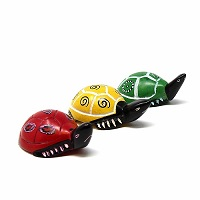 Handmade Soapstone Turtles -Set of 3