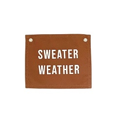 Sweater Weather Canvas Banner