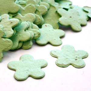 plantable confetti green